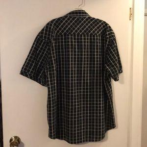 4242939e701 James Campbell Shirts - James Campbell black tan short sleeve men s shirt